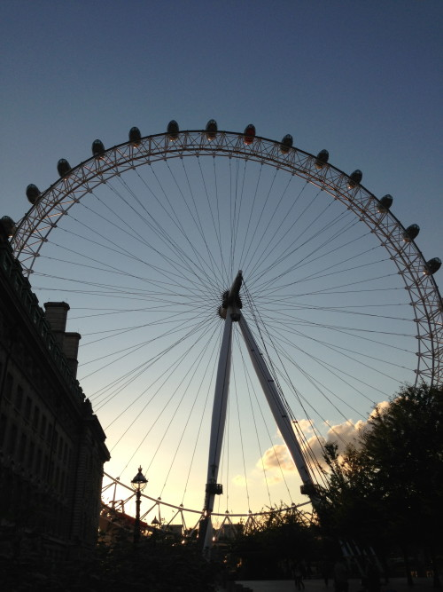 London Eye - Colleen Friesen